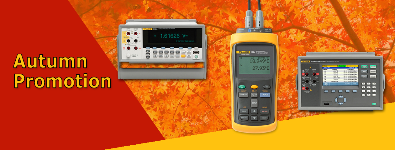 Fluke Calibration Autumn Promotion