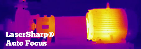 Autofokus-System Lasersharp