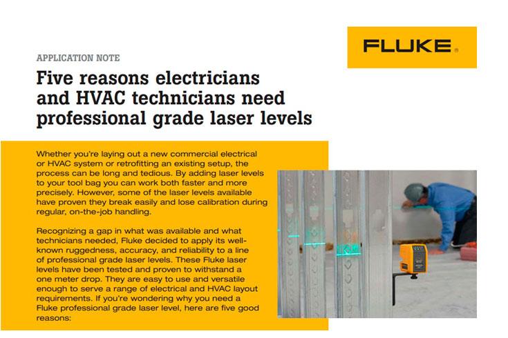 5 raisons d´utiliser les niveaux laser