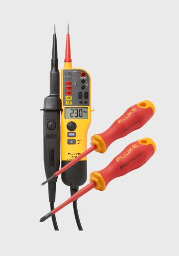 Fluke T130 with 2 screwdrivers