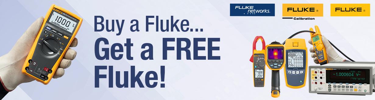 Buy a Fluke...Get a Free Fluke!