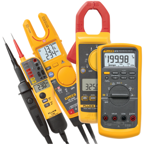 Troubleshooter Kit DMM 87V, Clamp 325, ETester T6-1000 and TPT T150