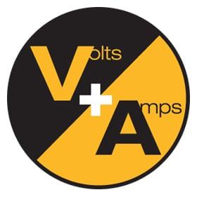 Measures Volts & Amps