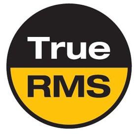 True RMS reading