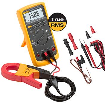 Fluke 87V IMSK Industrial Multimeter Service Combo Kit