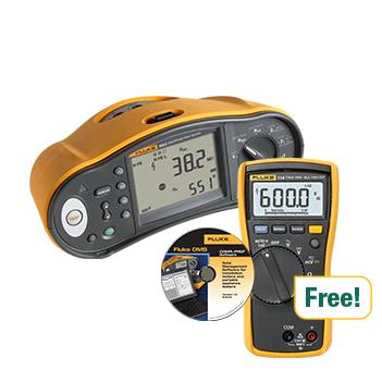 Fluke 1663, 114 Dijital Multimetre, DMS yazılımı