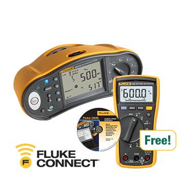 Fluke 1664FC, 115 Dijital Multimetre, DMS yazılımı