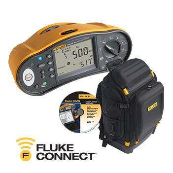Fluke 1664FC, Fluke sırt çantası, DMS yazılımı