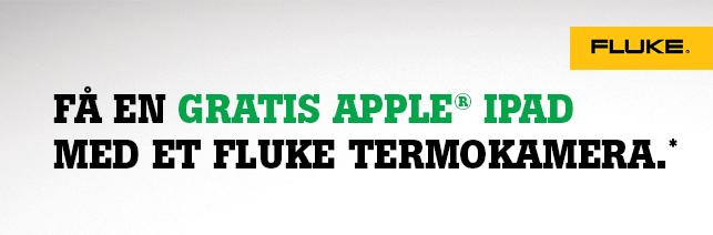 Få en gratis Apple Ipad med et Fluke termokamera.